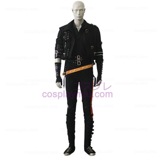Michael Jackson Black Cosplay Costume