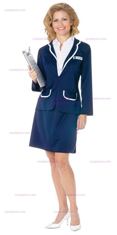 Love Boat Cruise Director Julie Adult Costume