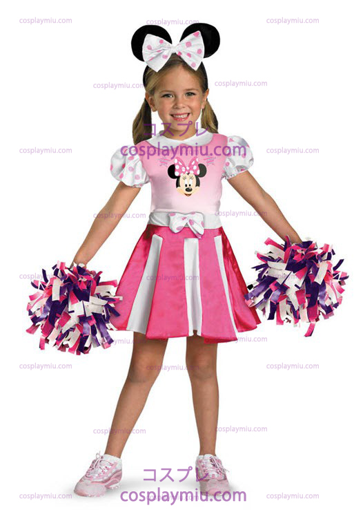 Minnie Mouse Cheerleader Toddler and Child Costume
