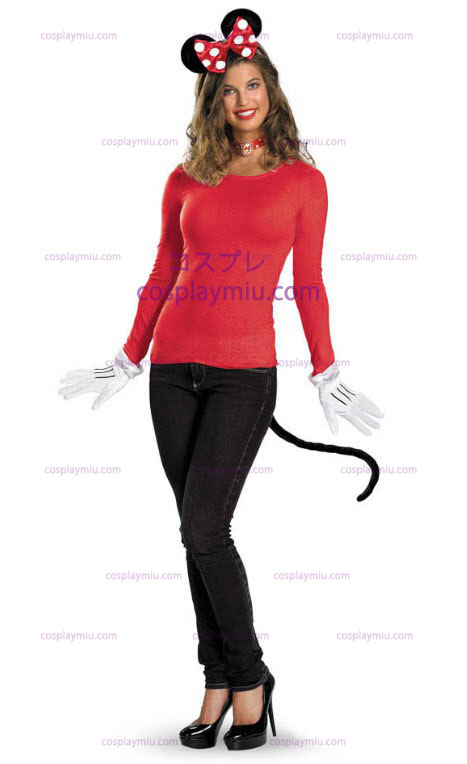 Red Minnie Mouse Adult Costume Kit
