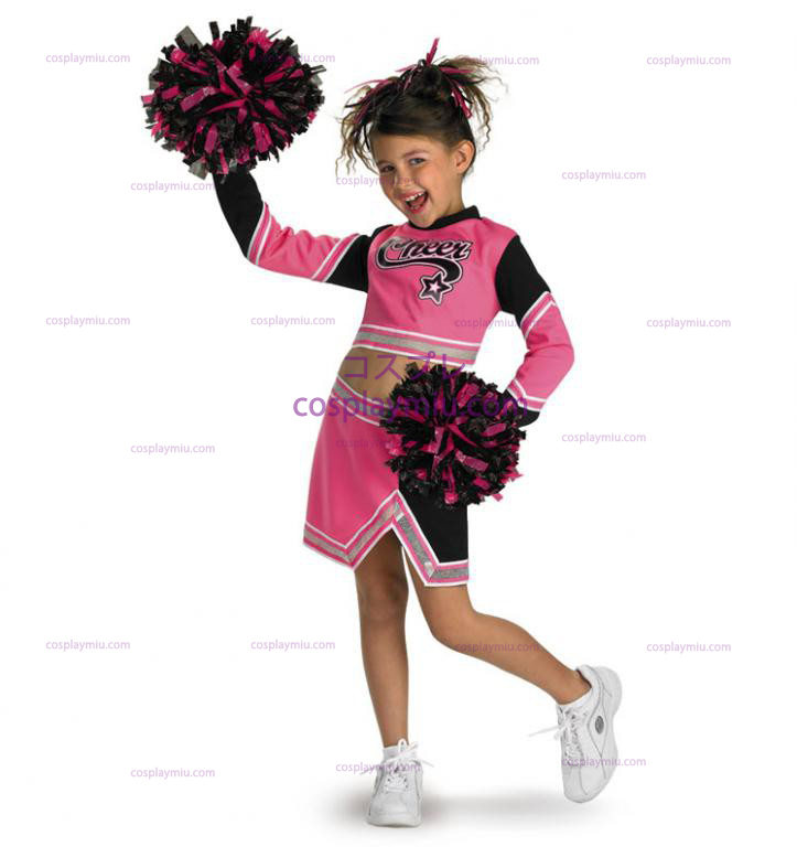 Go Team Pink! Cheerleader Child Costume