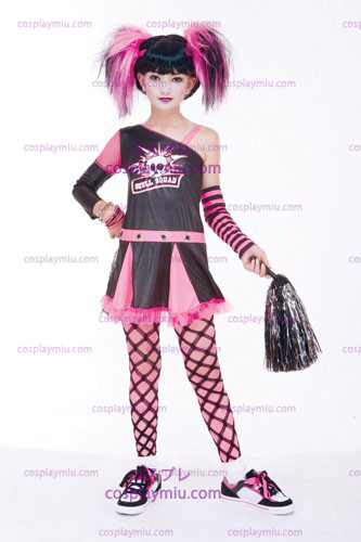Gothic Cheerleader Child Costume