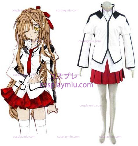 Japanese School Uniform Cross Cosplay Costume