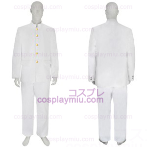 Japanese School Uniform White Mens