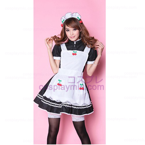 Lovely Cherry Maid outfit/Princess Skirt Maid Costumes