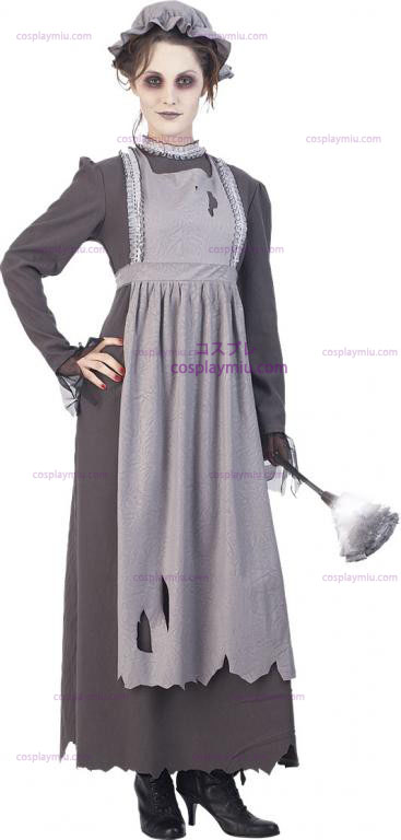 Elsa The Ghost Maid Adult Costume: Small