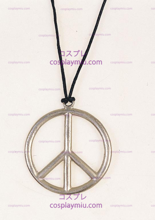 Metal Peace Necklace