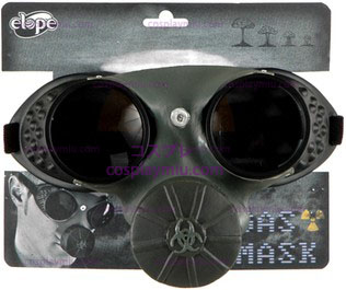 Glasses Gas Mask