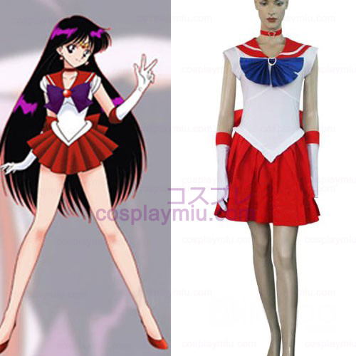 Sailor Moon Sailor Mars Raye Hino Halloween Cosplay Costume