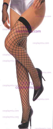 Thigh High Fence Net Stockings