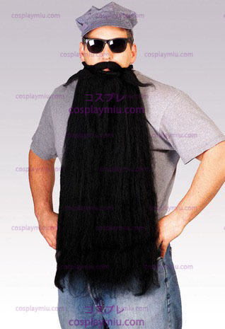 "Mohair 25"" Black Beard"