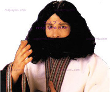 Biblical Beard & Wig, Black