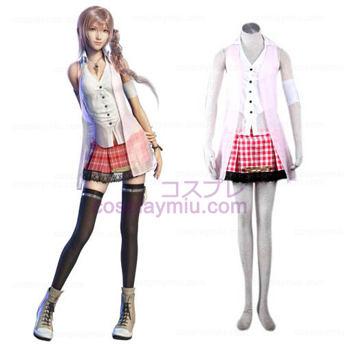 Final Fantasy XIII 13 serah Cosplay Costume