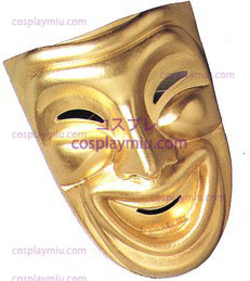 Comedy Mask, Gold
