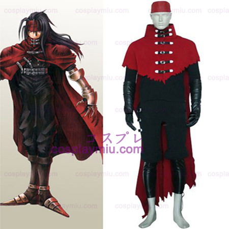 Final Fantasy VII Vincent Valentine Halloween Cosplay Costume