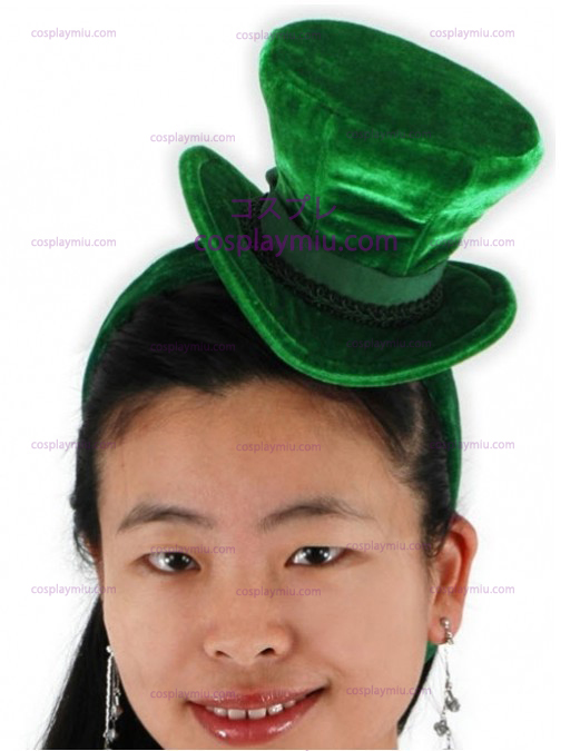 Green Cocktail Top Hat