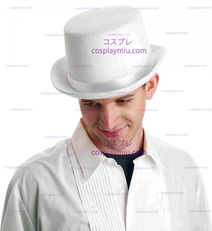 Deluxe White Top Hat