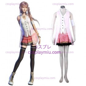 Final Fantasy XIII serah Women Cosplay Costume