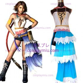 Final Fantasy Xii Yuna Cosplay Costume cheap sale