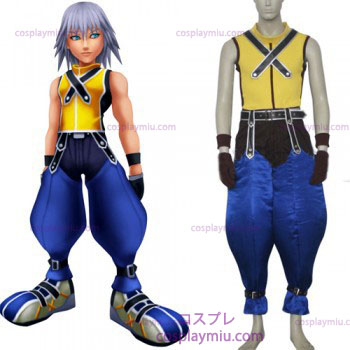 Kingdom Hearts 1 Riku Men's Cosplay Costume