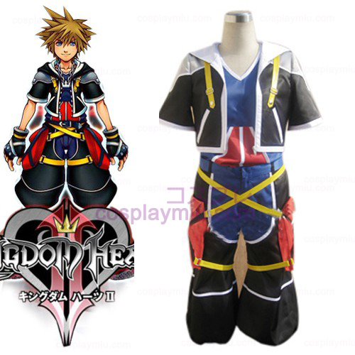 Kingdom Hearts 2 Sora Men's Cosplay Costume