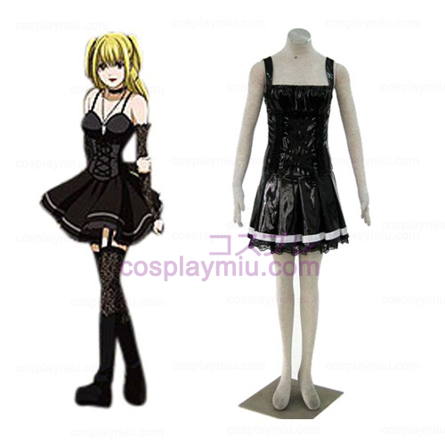 Death Note Amane Misa Black Cosplay Costume