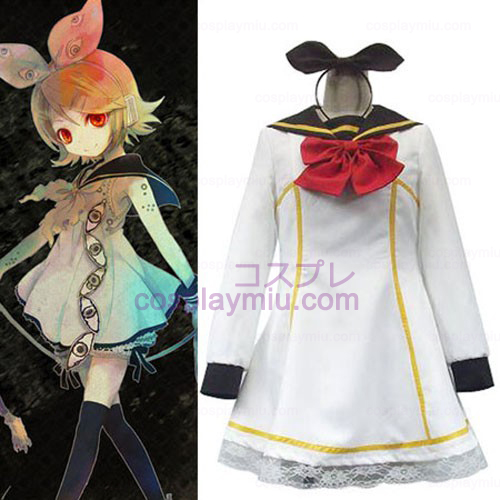 Vocaloid Kagamine Rin Women's Cosplay Costume