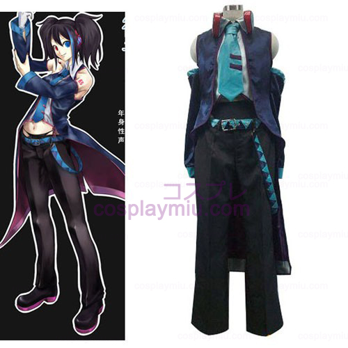 Vocaloid Yokune Ruko Halloween Women Cosplay Costume