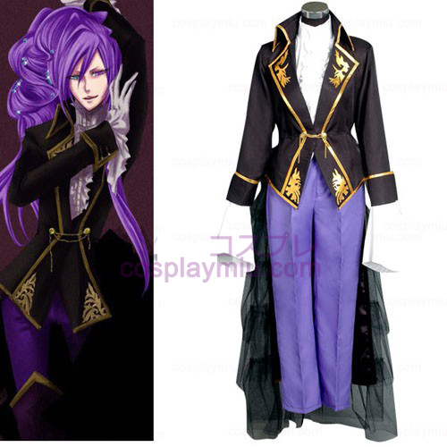 Vocalod Kaito Men Cosplay Costume