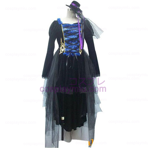 Vocaloid Women's black Cosplay Costume