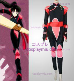 Inuyasha Sango Cosplay Costume Flighting Suit