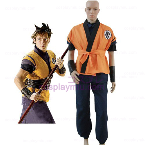 Dragon Ball Movie Goku Cosplay Costume