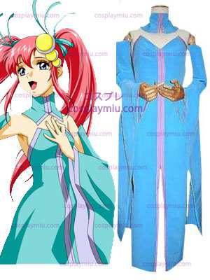 Mobile Suit Gundam SEED Lacus Clyne Singer Version Cosplay Costume