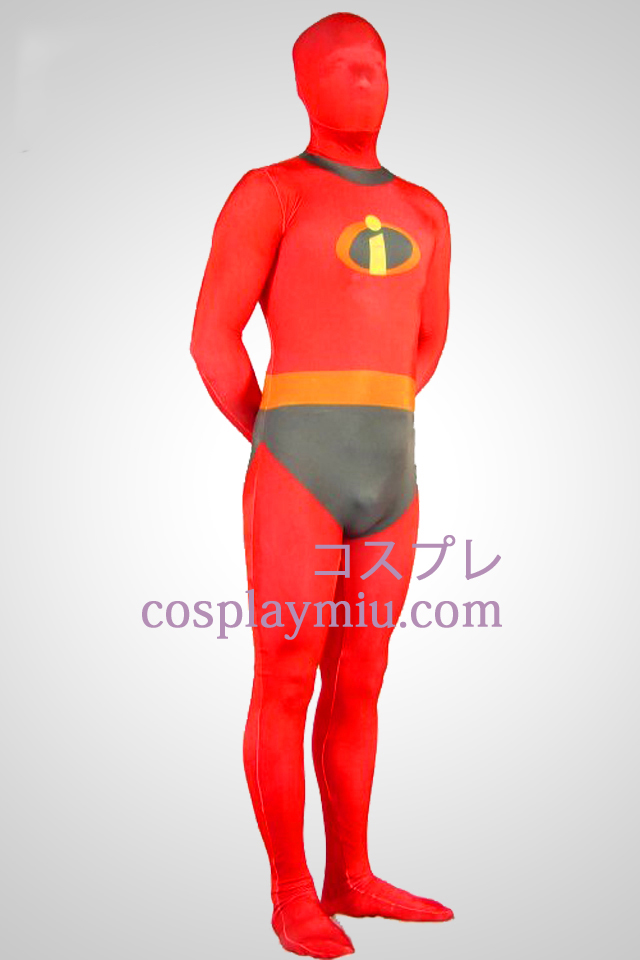 The Incredibles Lycra Spandex Superhero Zentai Suit