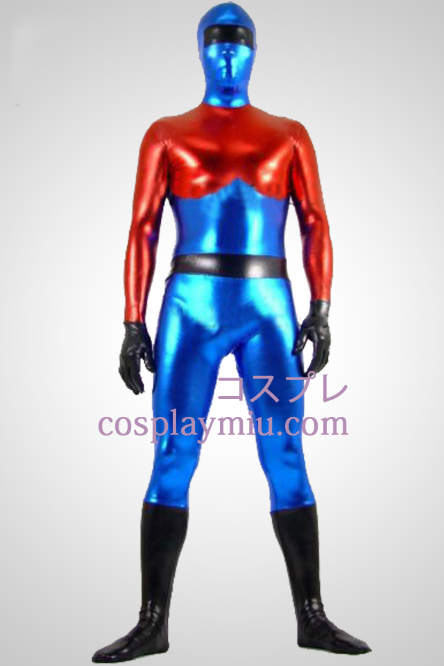 Optimus Prime Shiny Metallic Superhero Zentai Suit