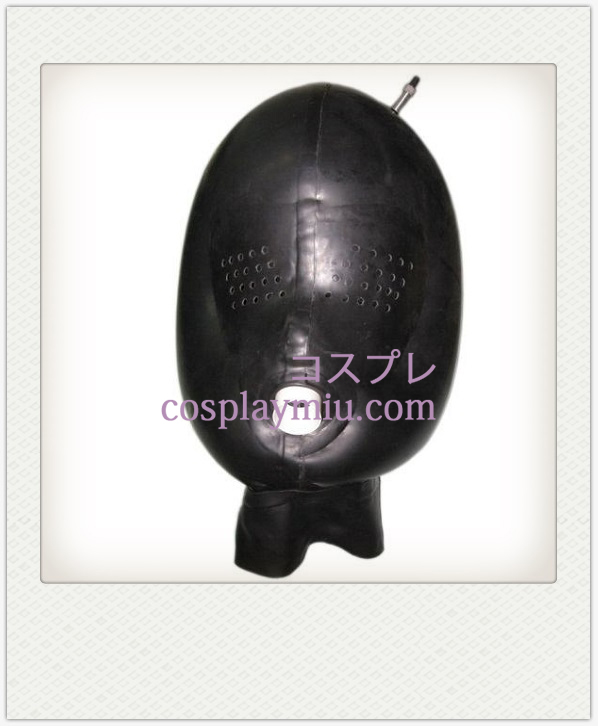 Black Mesh SM Latex Mask