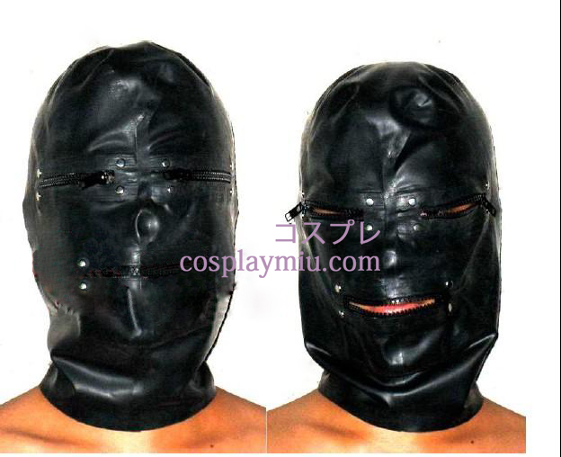 Zipper Latex Hood