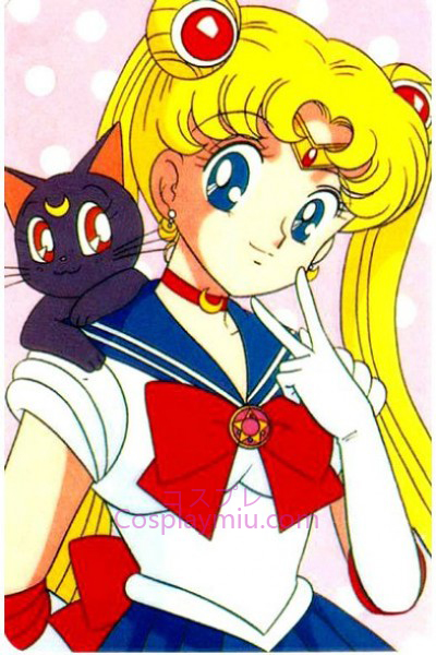 Classical Sailor Moon Tsukino Usagi Cosplay Wig