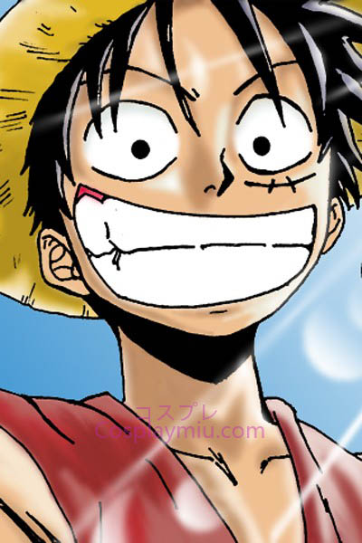 One Piece Monkey D. Luffy Short Cosplay Wig
